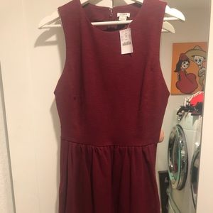 New JCrew Red Dress
